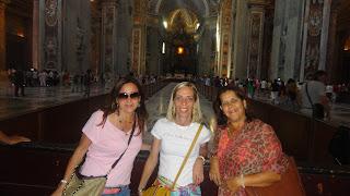 Marcelina Reis2 - Visita guiada aos Museus Vaticanos, Capela Sistina e Basilica de S. Pedro com guia particular