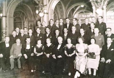 Componentes del equipo del Club Ajedrez Barcelona en 1932