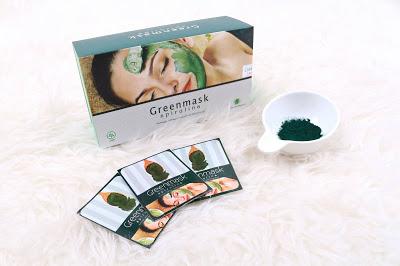 Green Mask Spirulina Untuk Mengatasi Masalah Kulit Berkomedo