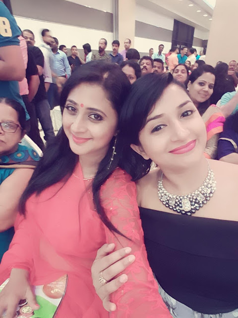 Meera Jasmine and Kaniha at 10 Kalpanakal Audio Trailer Launch Meera Jasmine New Look