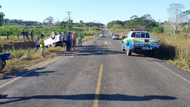 Grave acidente na RO 133 deixa uma vitima fatal em Theobroma