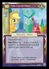 My Little Pony Fake Crystal Heart The Crystal Games CCG Card