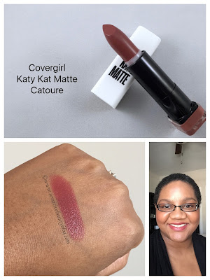 Covergirl Katy Kat Matte Catoure swatched
