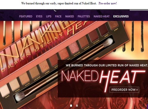Urban Decay Naked Heat Pre-Order