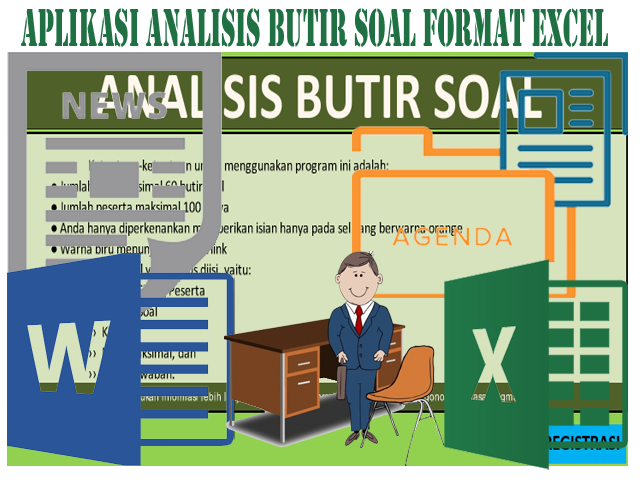 Download Aplikasi Analisis Butir Soal Format Excel