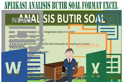 Aplikasi Analisis Butir Soal Format Excel