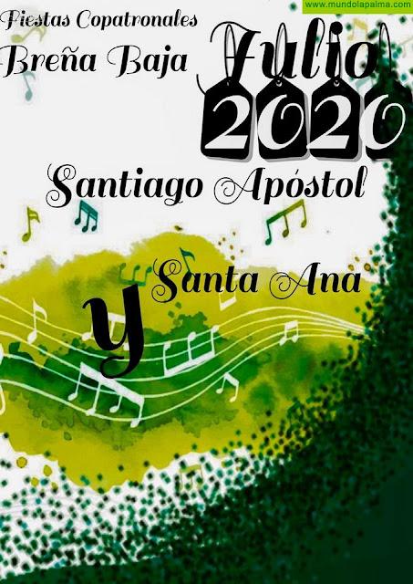 """BREÑA BAJA: Fiestas Copatronales de """"Santiago Apóstol y Santa Ana"""" 2020"""
