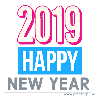 exclusive 2019 happy new year text png greetings live