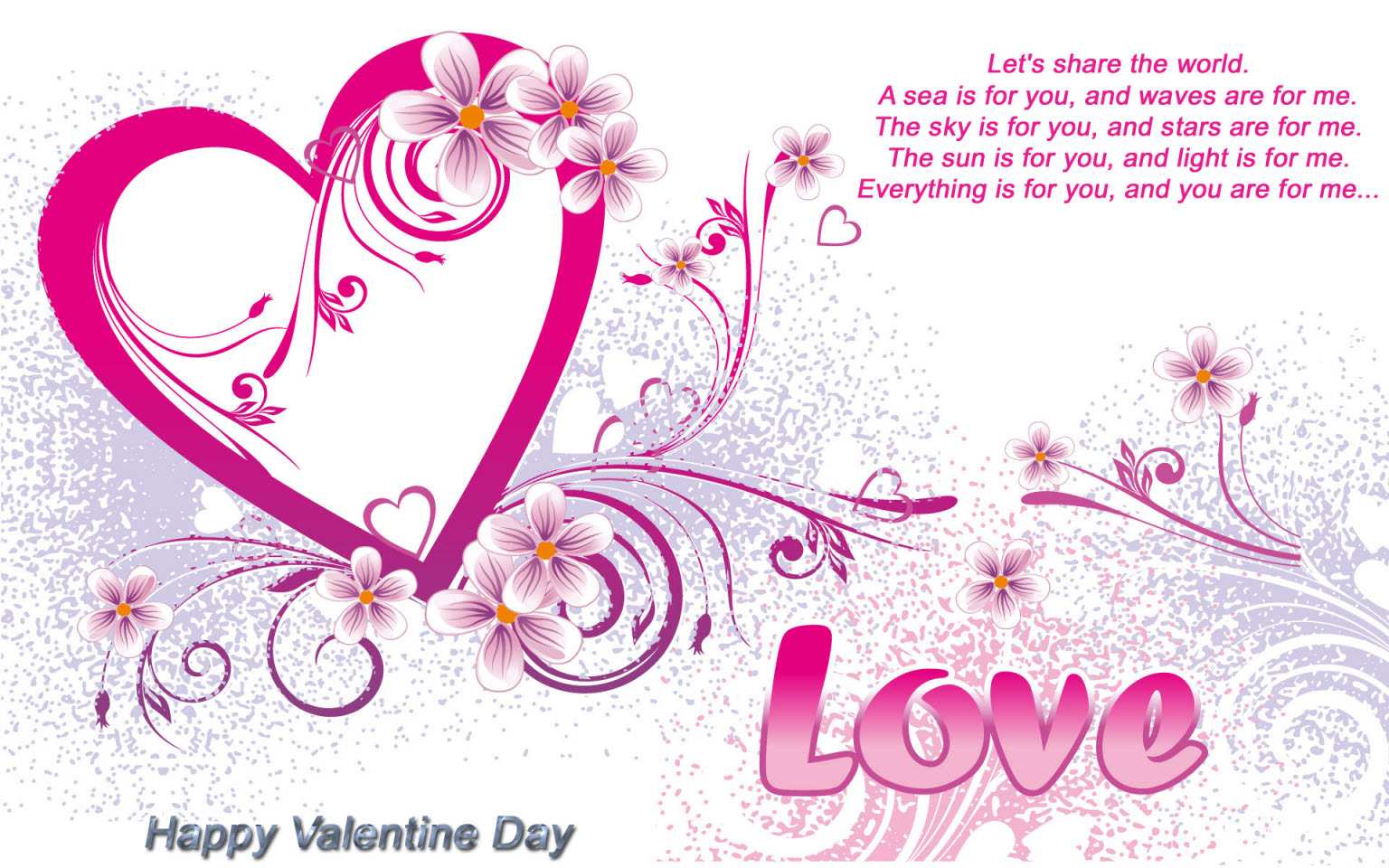 Valentines Day Greeting Cards For Girlfriend. 1536 x 960.Happy Valentine Day Message For Friends