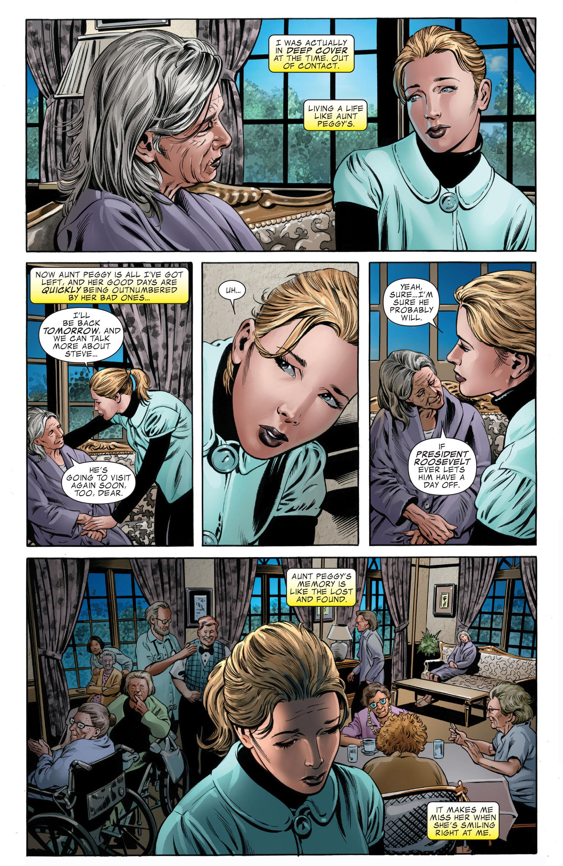 Read online Captain America (2005) comic -  Issue #49 - 10