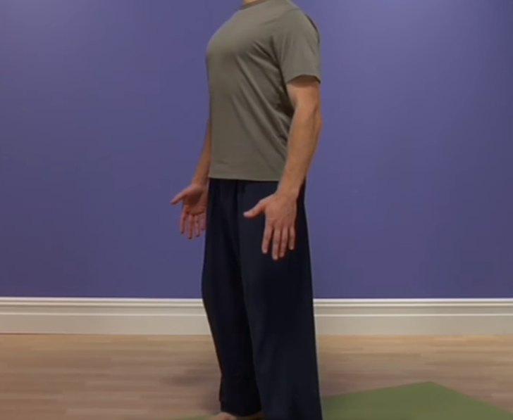 The Mountain Pose (Tada-asana)