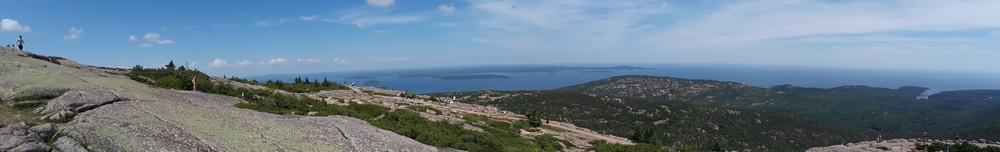 Autre vue des Cadillac Mountains Acadia National Park