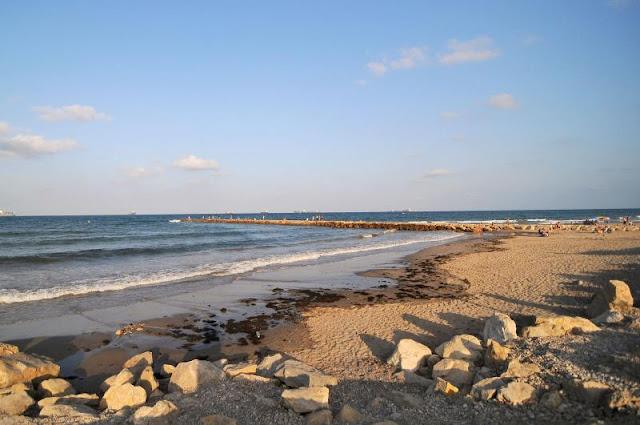Praia de Pinedo em Valência