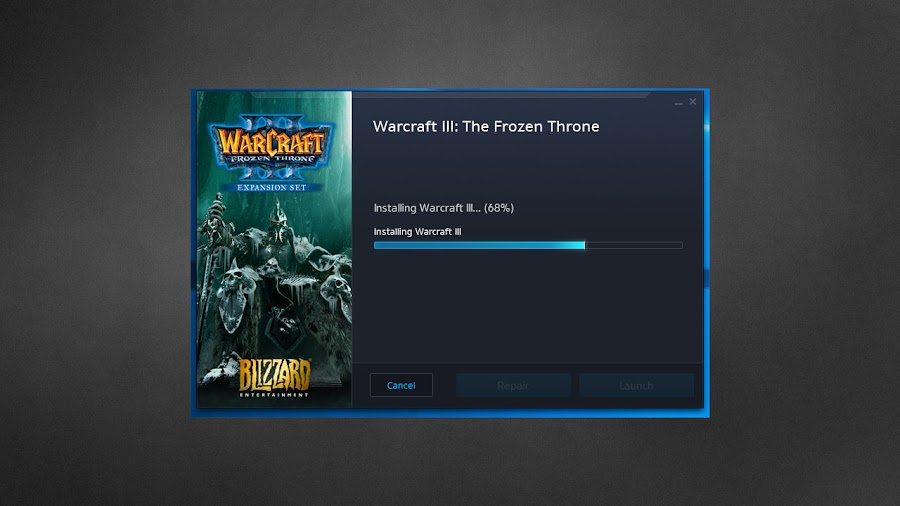 warcraft 3 update launcher