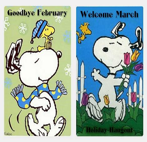 Goodbye February Hello March 2017. At December , 2017. Looking At Life  Through My Bifocals: CLOSING OUT FEBRUARY