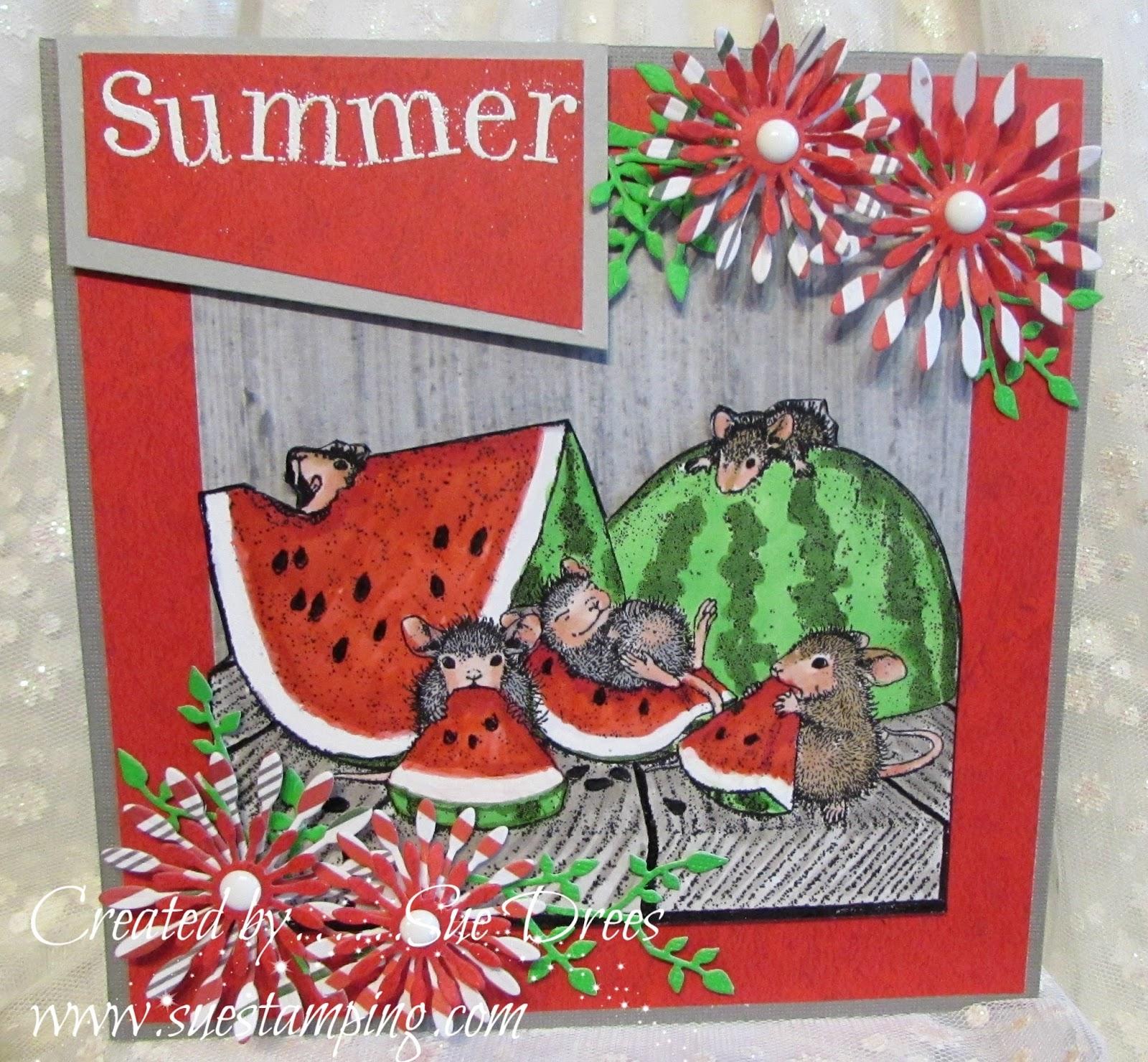 Sue\'s Rubber Stamping Adventures: June 2017