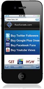 Get twitter followers facebook fans youtube views google plus 1's