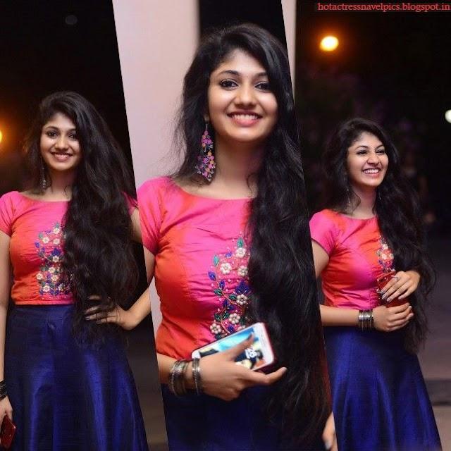 Drishya Raghunath Looking Gorgeous in Pink Dress