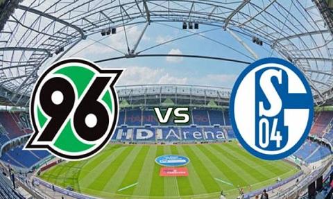 Trận đấu giữa 2 đội Hannover vs Schalke