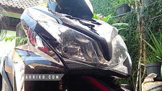Cara Mengganti Lampu Depan Honda Vario Techno 125 FI old