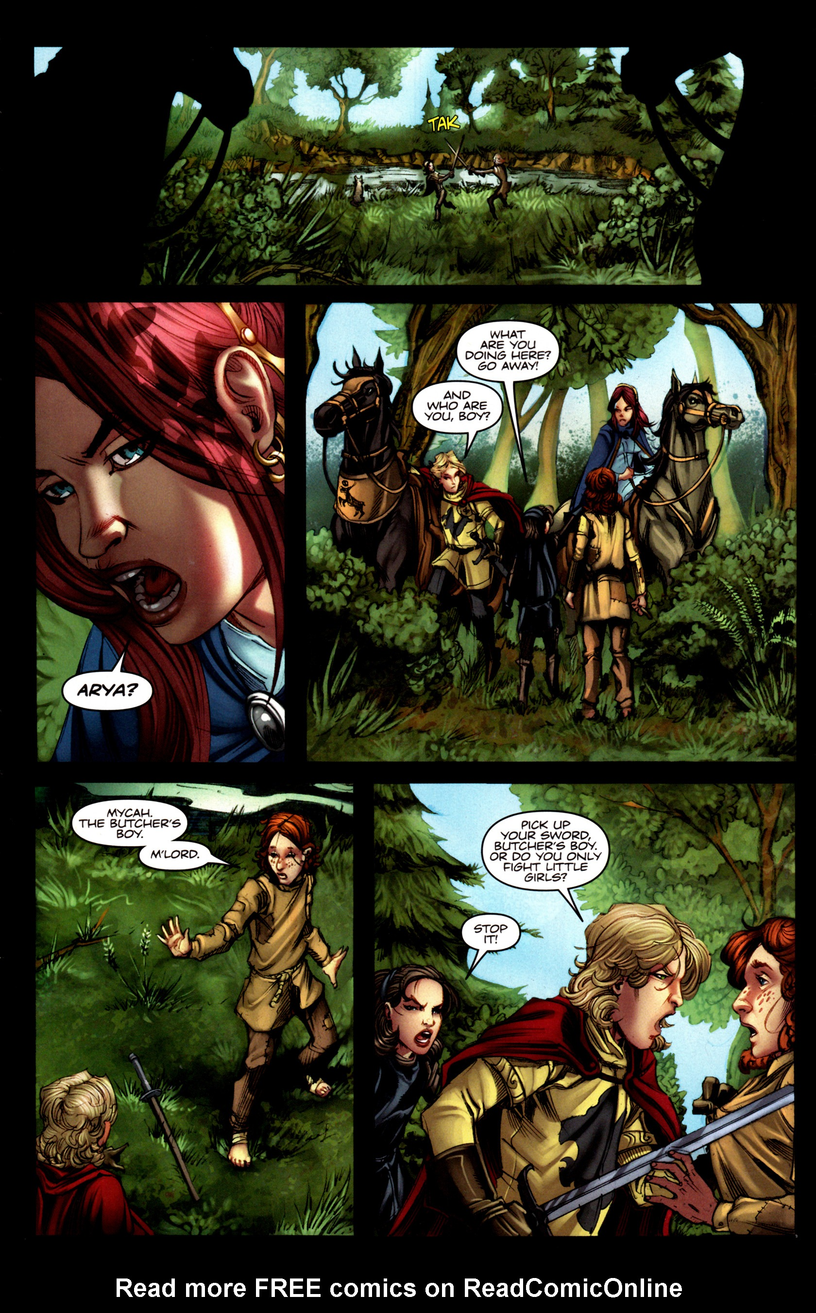 Read online A Game Of Thrones comic -  Issue #5 - 10
