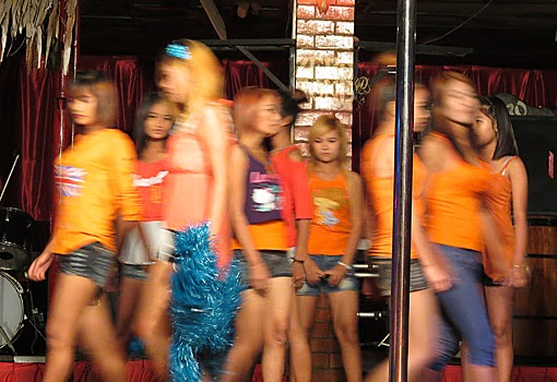 Myanmar fashion show in Yangon China Town