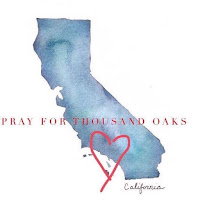 Pray for Thousand Oaks (Artist unknown)