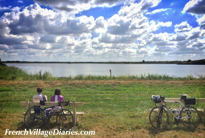 French Village Diaries family cycling in the Vienne Brenne