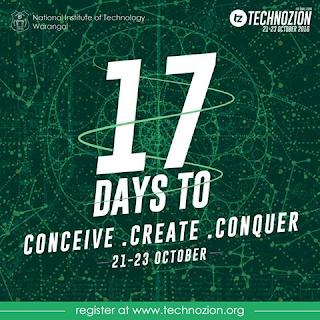 Register Event at technozion NIT Warangal
