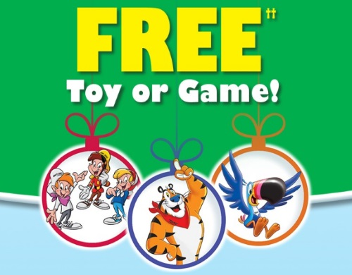 Kellogg's Free Toy & Game Offer