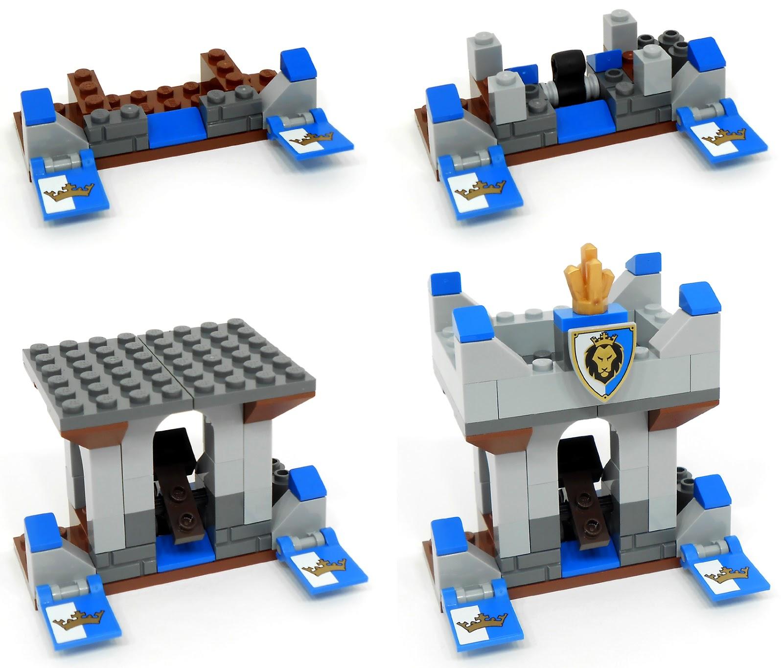 Lego Spares Parts Sticker Set For 70402 Lego Complete Sets Packs