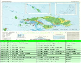 Peta Geologi Waigeo