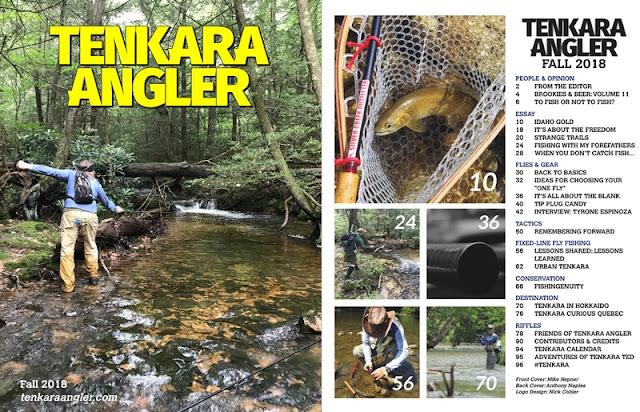 Tenkara Angler Magazine Fall 2018