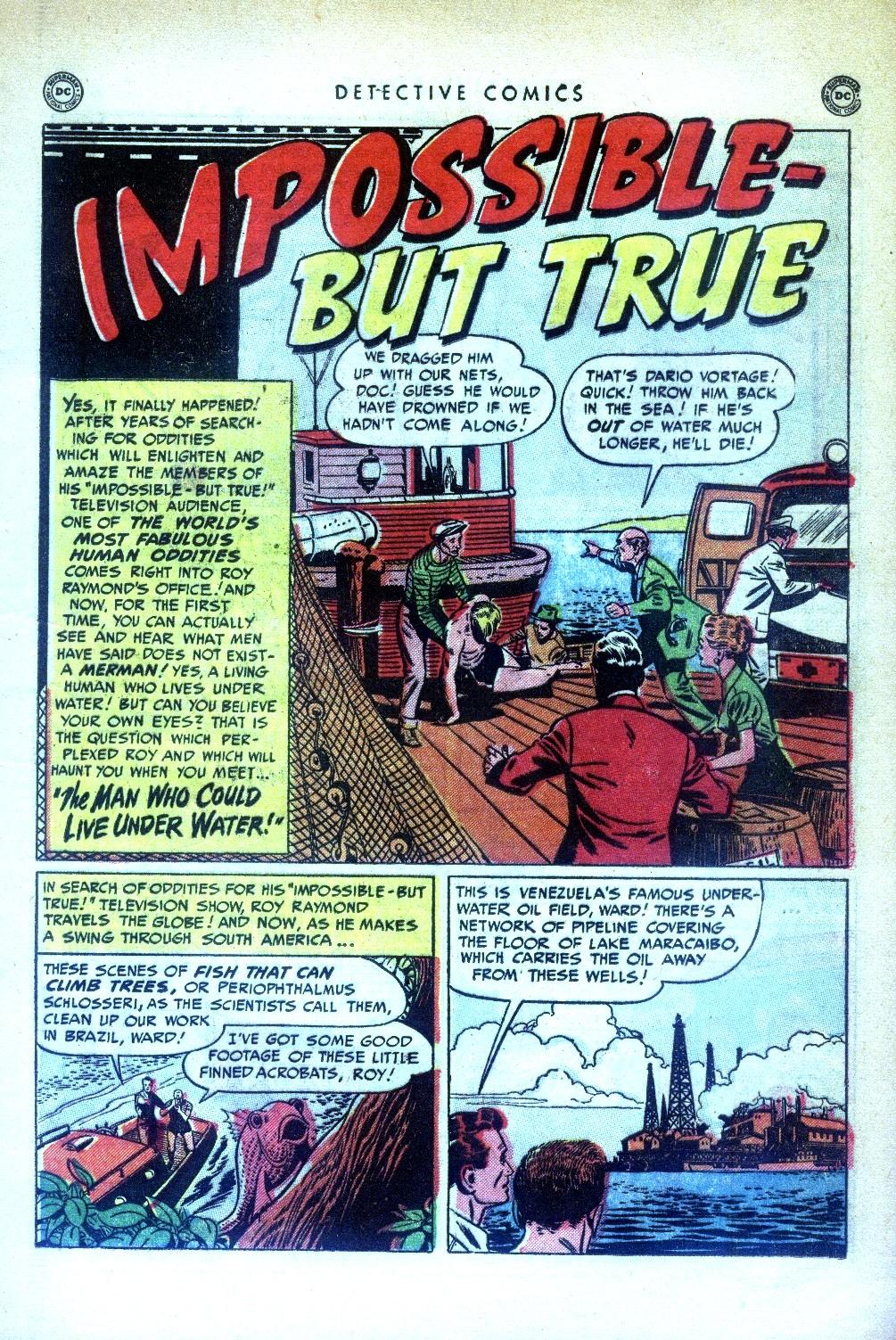 Read online Detective Comics (1937) comic -  Issue #169 - 17
