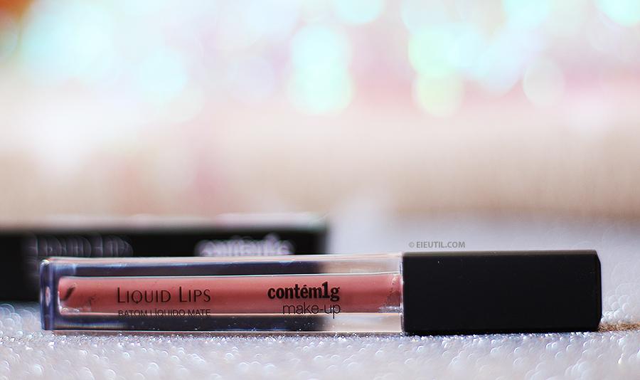 Batom Líquido Mate 'Lenda Metallic' Liquid Lips - Contém1g
