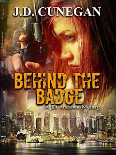 Behind the Badge - a thought-provoking mystery by J.D. Cunegan