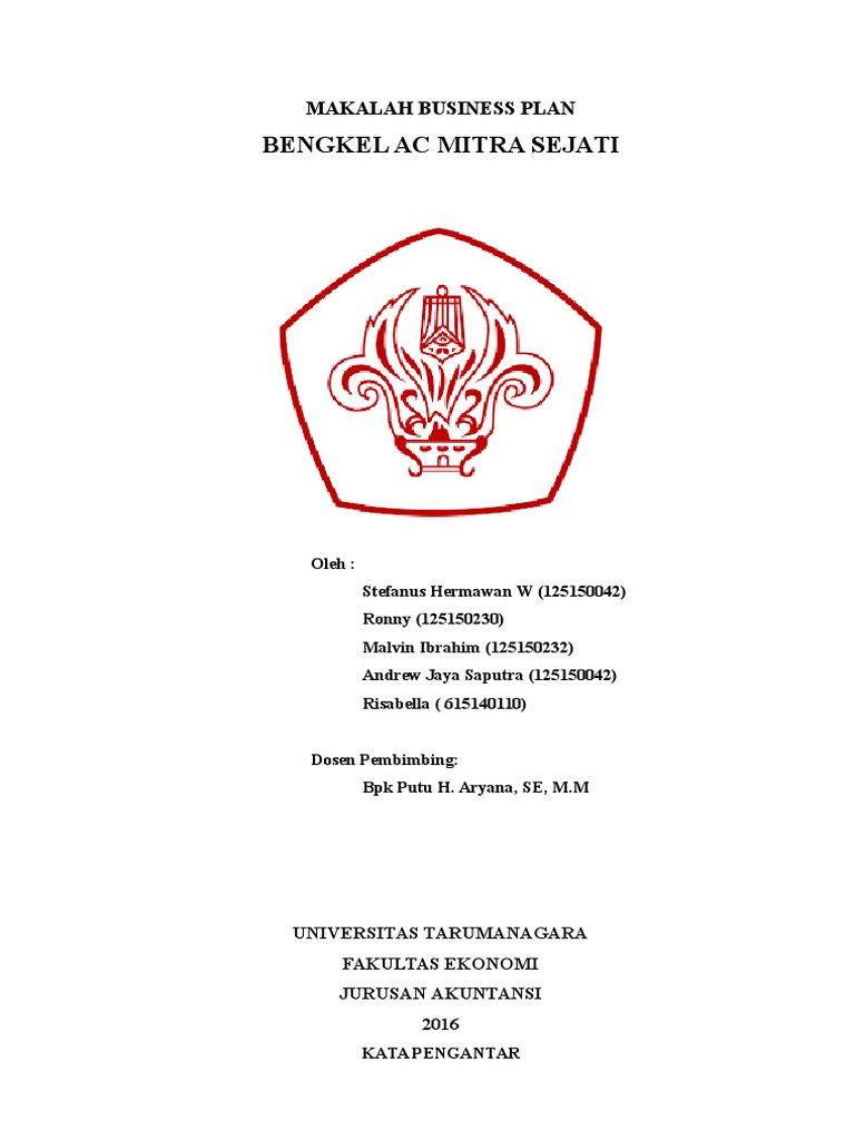 makalah bisnis plan - wood scribd indo