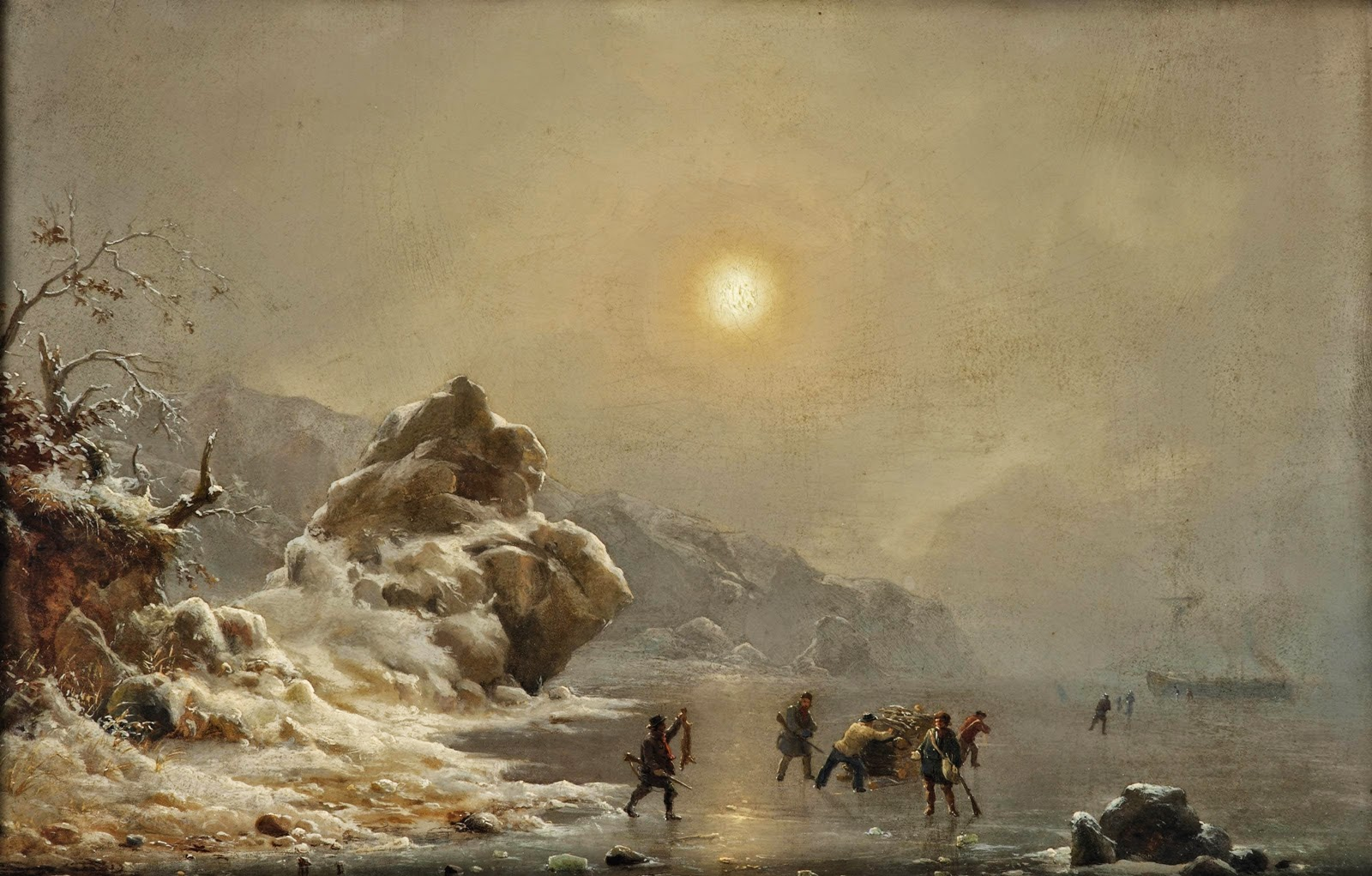 Maler Amberg Andreas Achenbach ~ The Dusseldorf School Of Painting