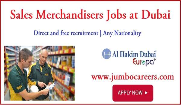 Latest sales merchandiser jobs for Indians, Available job vacancies in Dubai,