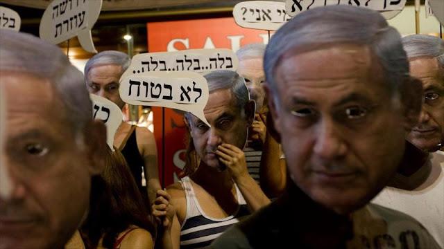 Israelíes protestan contra ataques a la libertad de expresión