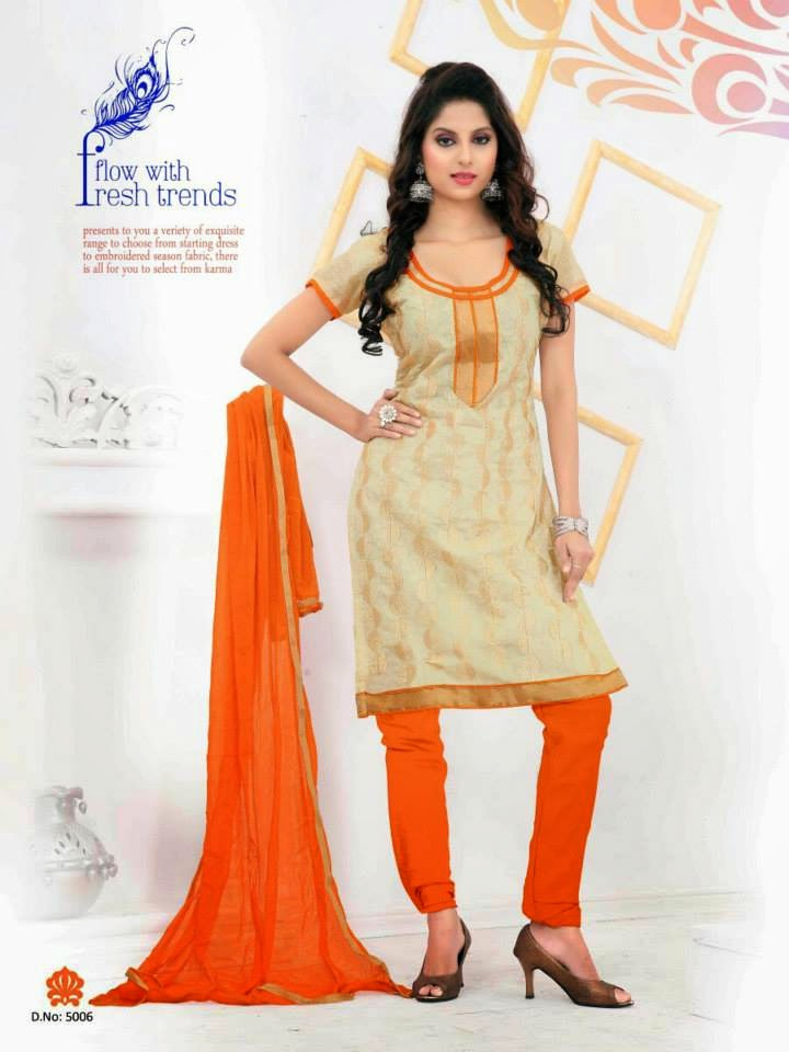 office wear trendy suits 2015 for indian girls by dhavani wfwomen