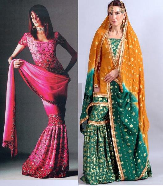 Latest Fashion Gharara Designs For Women Wallpaper Hd