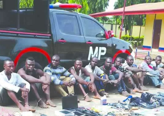 Photos Of Arrested Niger Delta Avengers