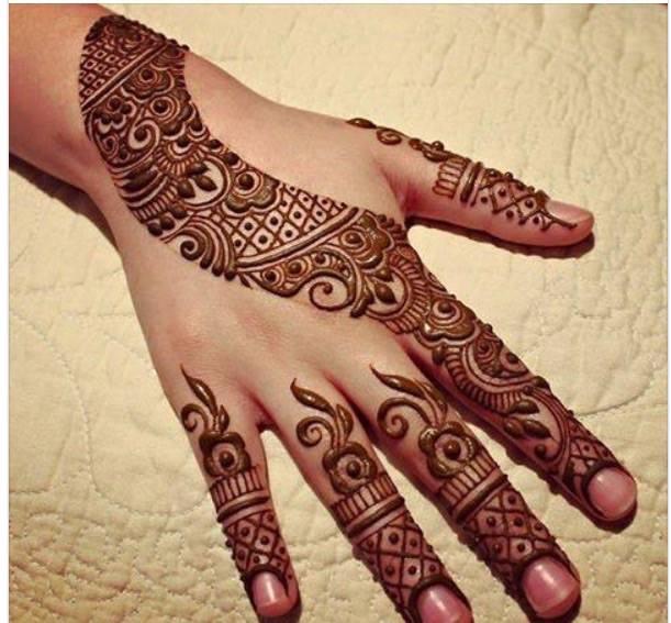 Mehndi Design Arabic Easy