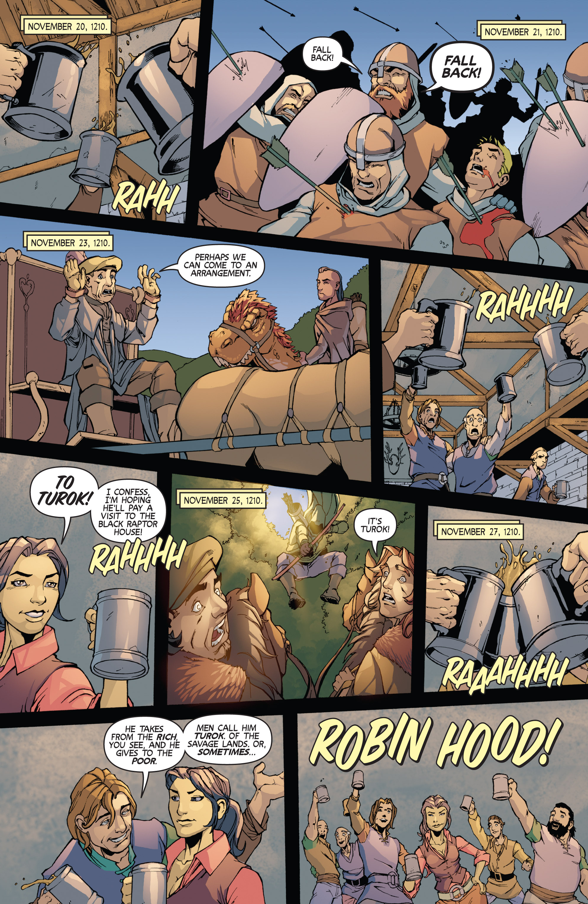 Read online Turok: Dinosaur Hunter (2014) comic -  Issue # _TPB 3 - 63