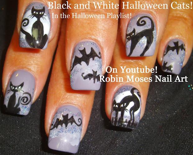 """Robin Moses Nail Art """"halloween Nails"""" Art"""" """"cute Halloween """"nail"""