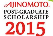 Ajinomoto Post-Graduate Scholarship for ASEAN International Students 2016