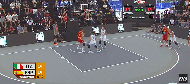 Italy's Game Winner vs Spain (VIDEO) 2016 FIBA 3x3 World Championships