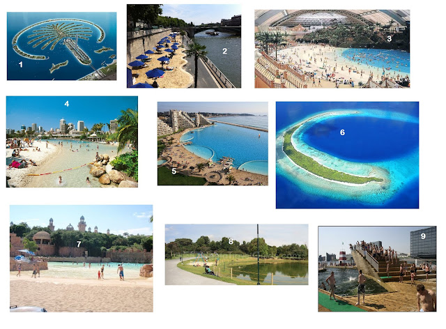 wisata pantai buatan, cara membuat pantai buatan
