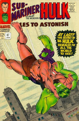 Tales to Astonish #87, the Incredible Hulk